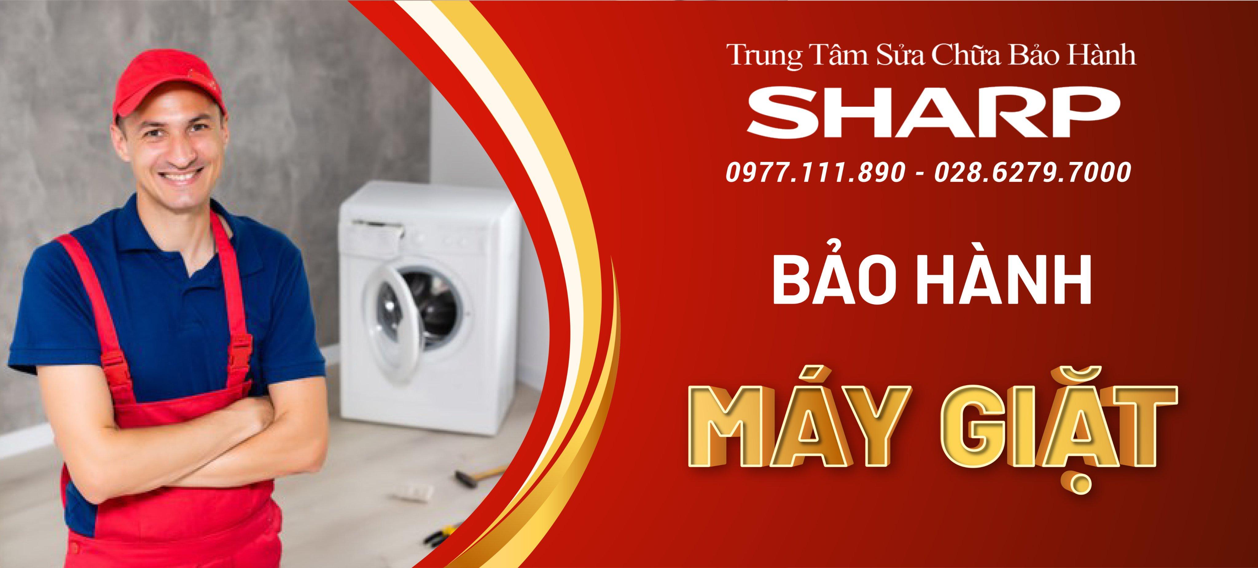 trung tâm bảo hành máy giặt sharp