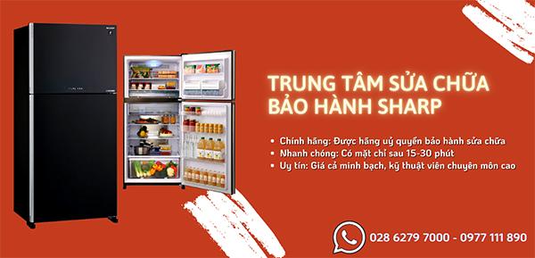 Trung tâm bảo hành tủ lạnh Sharp uy tín, chính hãng