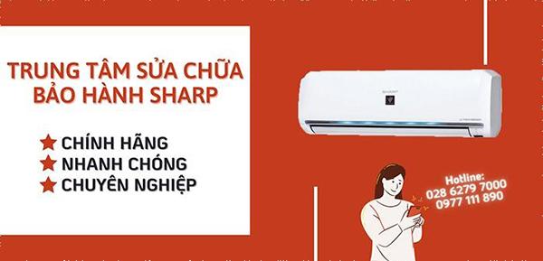 Trung tâm bảo hành máy lạnh Sharp, điều hòa Sharp toàn quốc