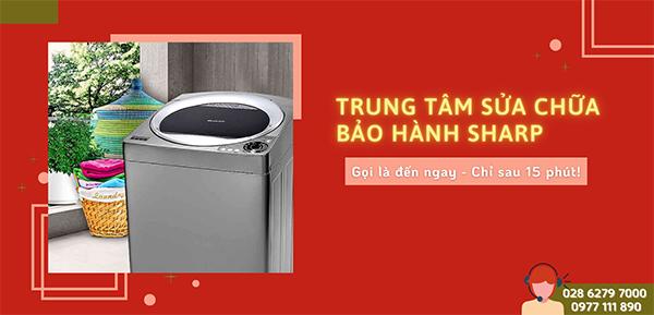 bảo hành máy giặt sharp