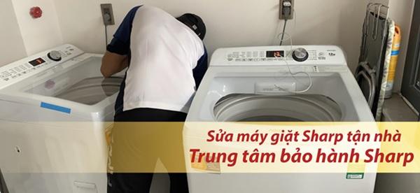 cách kiểm tra lỗi máy giặt sharp không lên nguồn, không vào điện
