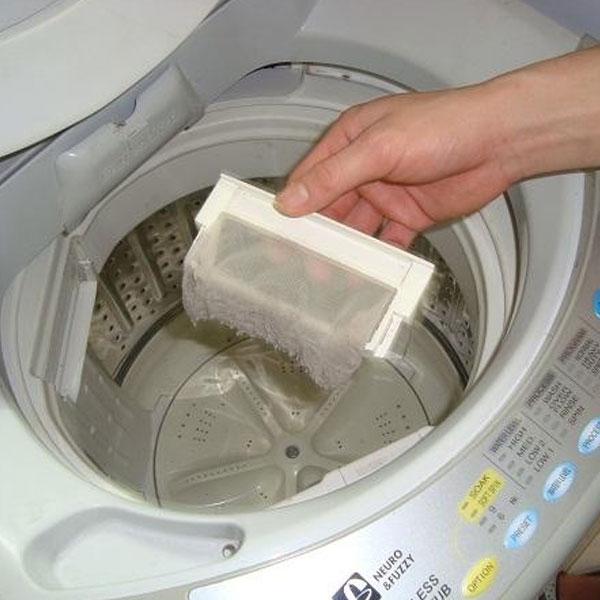 Máy giặt có nhiều cặn bẩn