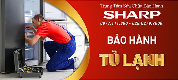 Dịch vụ bảo hành sửa chữa tủ lạnh Sharp tại Hà Nội