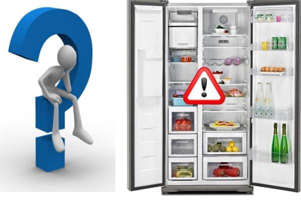 Tủ lạnh hư hỏng do nhiều yếu tố khách quan và chủ quan