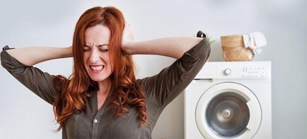 Phát ra âm thanh khi chạy? Máy giặt của bạn đã có vấn đề!!!