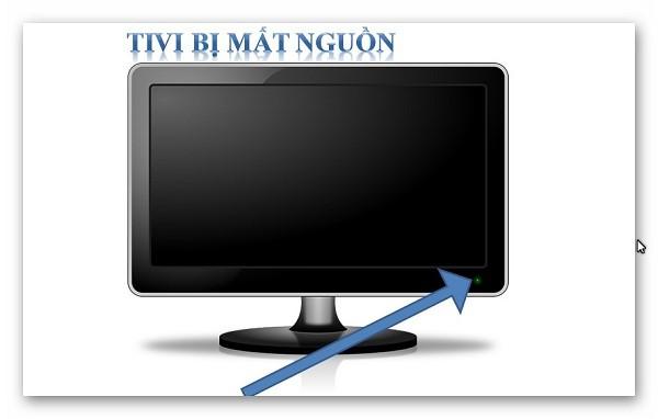 Tivi bị mất nguồn - một trong những lỗi thường gặp ở hầu hết của các hãng tivi hiện nay