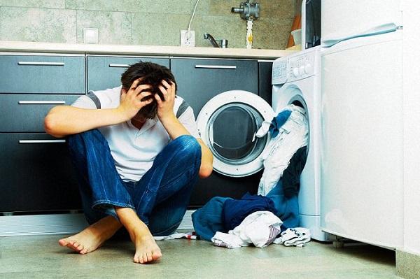 Máy giặt Sharp bị rung 2