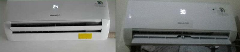 Lỗi máy lạnh Sharp hiển thị số