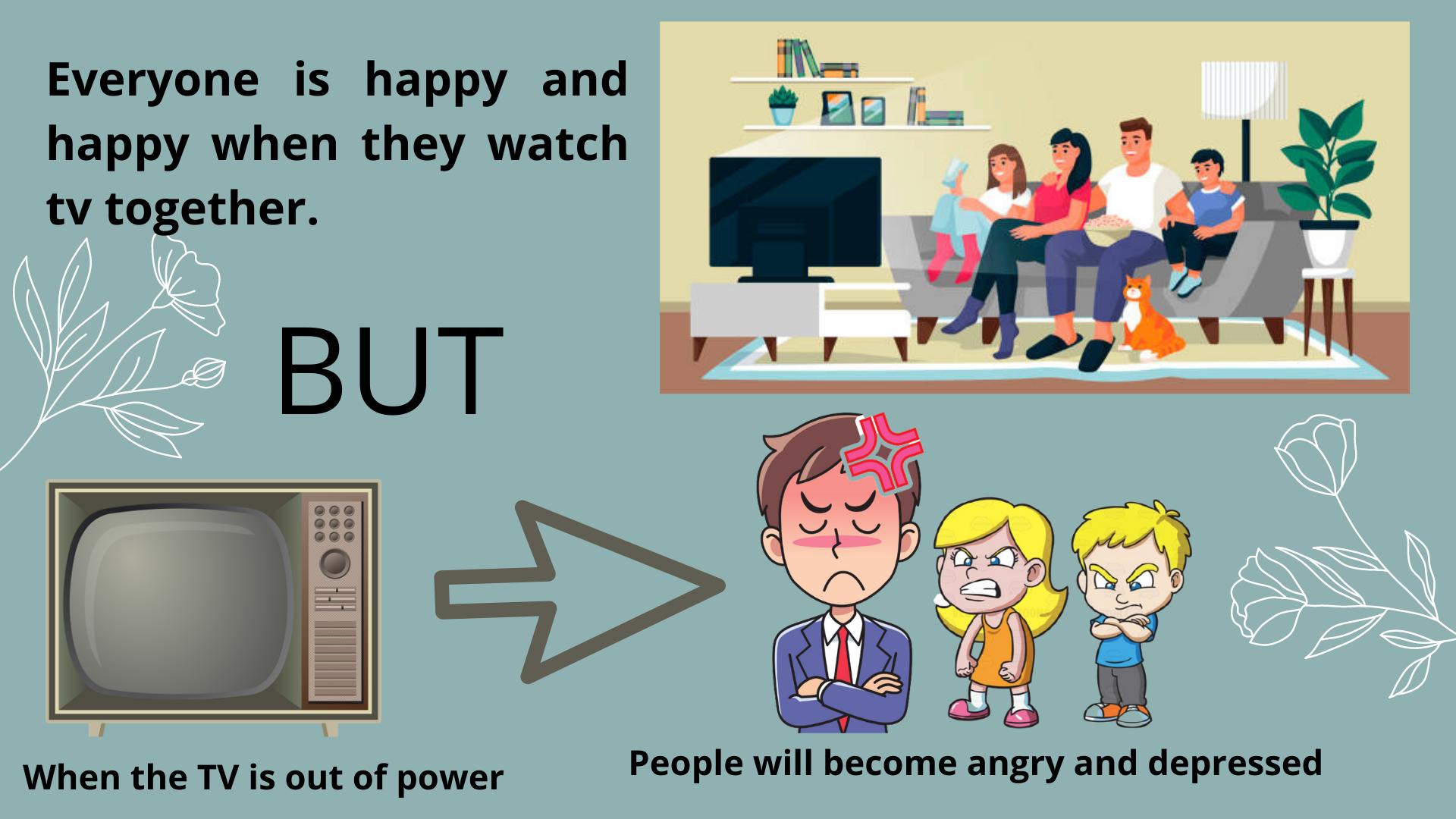 Tivi Sharp mất nguồn đột ngột ảnh hưởng đến cảm xúc của người xem